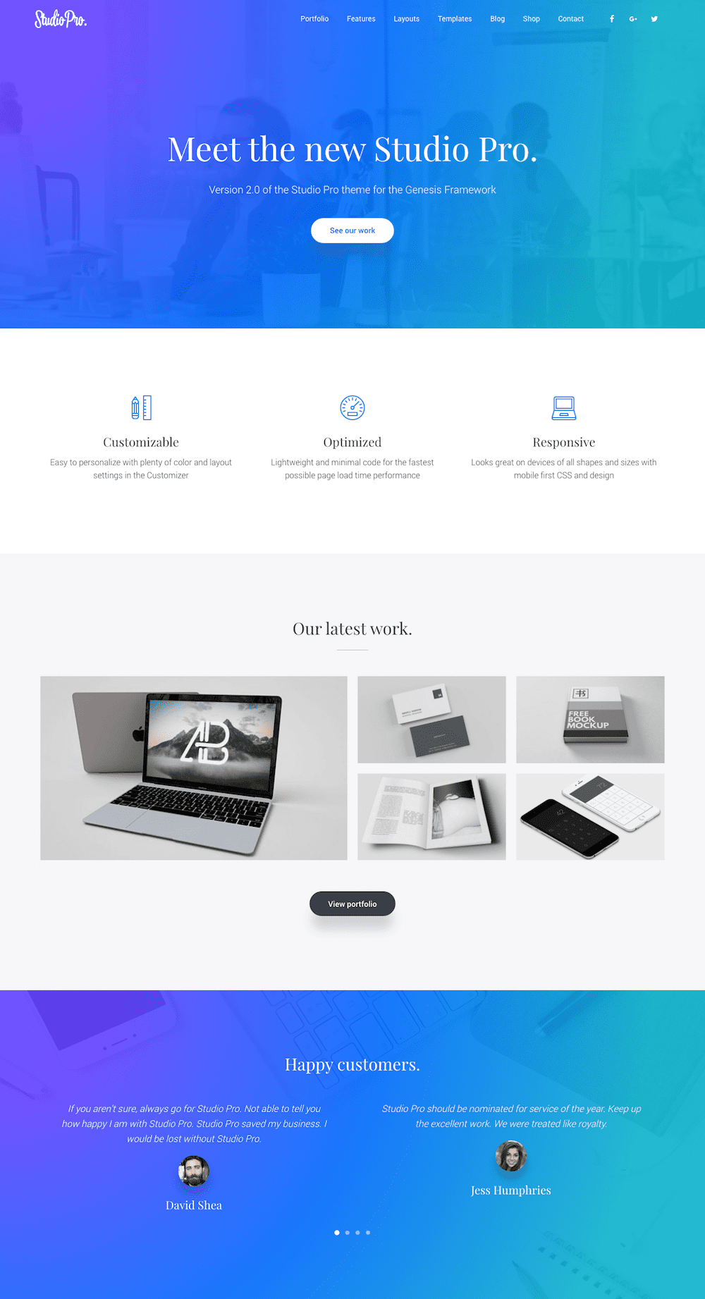 Studio Pro from SEO Themes